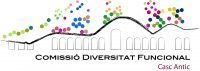 Logo comissioÌ Diversitat Funcional Casc Antic