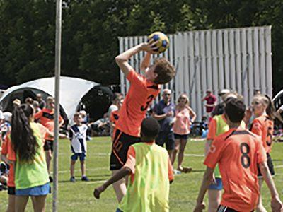 Esports inclusius i de grup als jardins del Pou de la Figuera